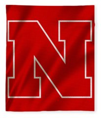Nebraska Cornhuskers Flag Fleece Blanket