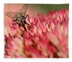 Nectar Hunt Fleece Blanket