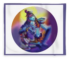 Neelakanth Shiva  Fleece Blanket