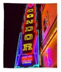 Neon Condor San Francisco Fleece Blanket