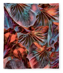Neotropism 2 Fleece Blanket