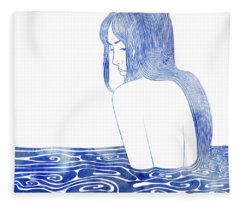 Nereid Xl Fleece Blanket