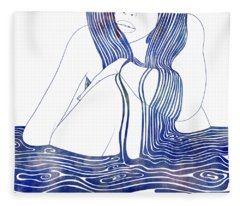 Nereid Xlii Fleece Blanket