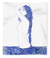 Nereid Xliv Fleece Blanket