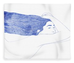 Nereid Xlix Fleece Blanket