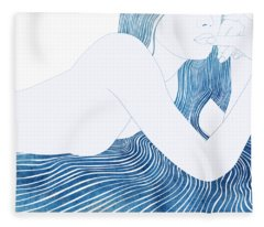 Nereid Xlv Fleece Blanket