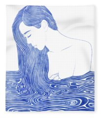 Nereid Xlvii Fleece Blanket