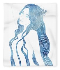 Nereid Xlviii Fleece Blanket