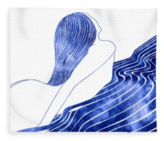 Nereid Xxx Fleece Blanket