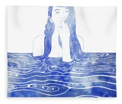 Nereid Xxxvi Fleece Blanket