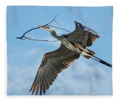 Nest Builder Fleece Blanket