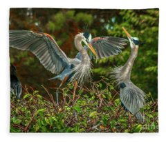 Nest Landing Fleece Blanket