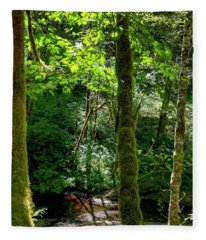 Nestucca River 3039 12x18 Fleece Blanket