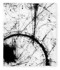 Neutrino, Bubble Chamber Event Fleece Blanket
