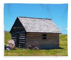 Nevada Homestead Fleece Blanket