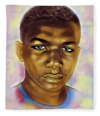 Never Forget Trayvon Fleece Blanket