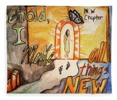 New Chapter Fleece Blanket