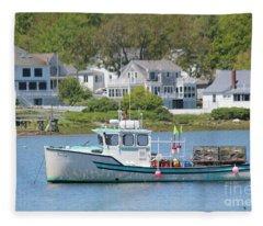 New England Summer Fleece Blanket