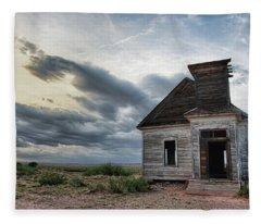 New Mexico Church # 2 Fleece Blanket