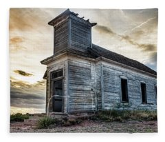 New Mexico Church #3 Fleece Blanket