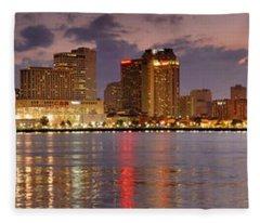 New Orleans Fleece Blankets