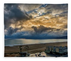 New Sky After The Rain Fleece Blanket