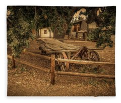 End Of The Trail - Paramount Ranch Fleece Blanket