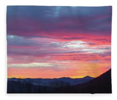 New Year Dawn - 2016 December 31 Fleece Blanket