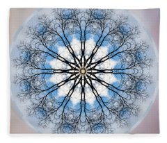 New Year Mandala - Fleece Blanket