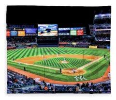 New York City Yankee Stadium Fleece Blanket
