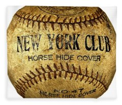New York Club Basball Circa 1918 Fleece Blanket