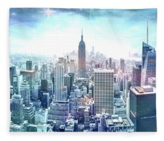 New York Fairytales Fleece Blanket