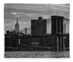 New York Landmarks Fleece Blanket