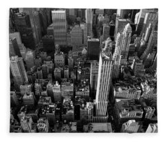 New York, New York 5 Fleece Blanket