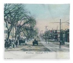 Newburgh Broadway - 04 Fleece Blanket