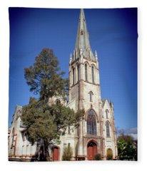 Newburgh First United Methodist Church Fleece Blanket