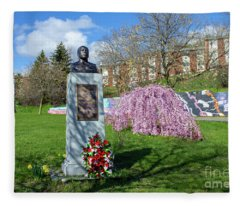 Newburgh's Dr. Martin Luther King Memorial Fleece Blanket