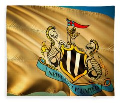 Newcastle F C Fleece Blanket