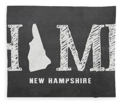 Nh Home Fleece Blanket