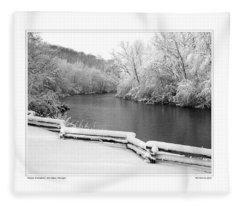 Nichols Arboretum #5 Fleece Blanket