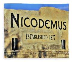 Nicodemus, 1877 Fleece Blanket