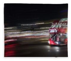 Night Chase Fleece Blanket