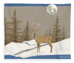 Night Encounter Fleece Blanket