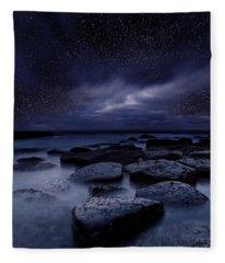 Night Enigma Fleece Blanket