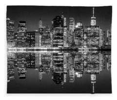 Night Grooves Fleece Blanket