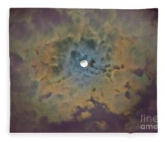 Night Moon Fleece Blanket