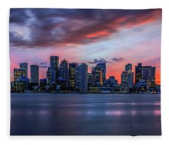 Night On The Town Fleece Blanket
