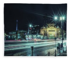 Night Ride Fleece Blanket