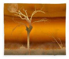 Night Shades Fleece Blanket