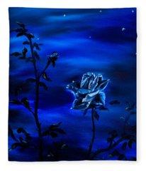 Night Stars Fleece Blanket